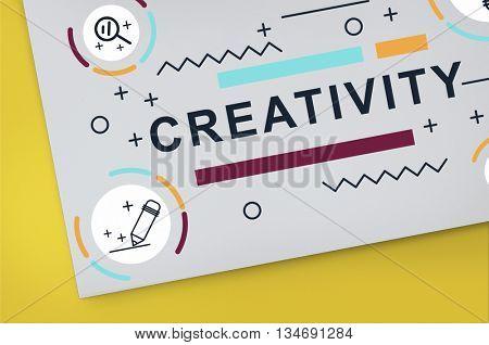 Creativity Ideas Design Invention Graphic Concept