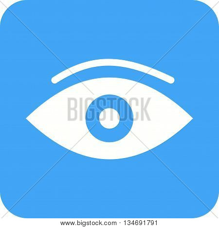 Eye, view, focus icon vector image. Can also be used for human anatomy. Suitable for use on web apps, mobile apps and print media.