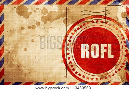rofl internet slang