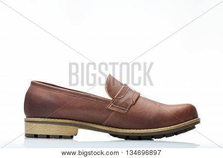 Brown Cocktail Men Shoe