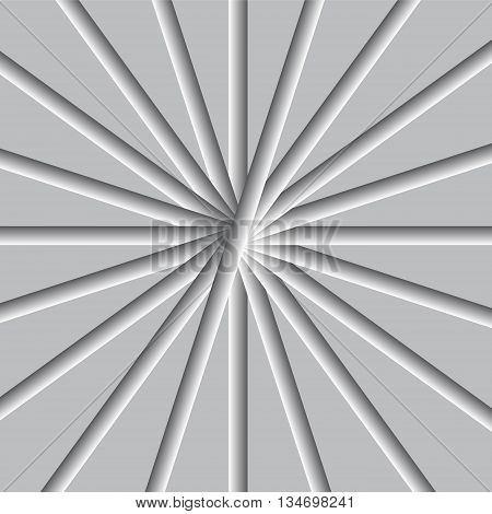 silver array gradient background vector illustration image showing silver ray surface and look soft glossy with line surface