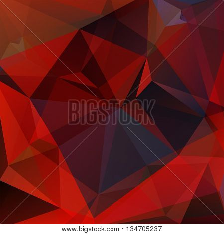 abstract dark background, square simple vector illustration