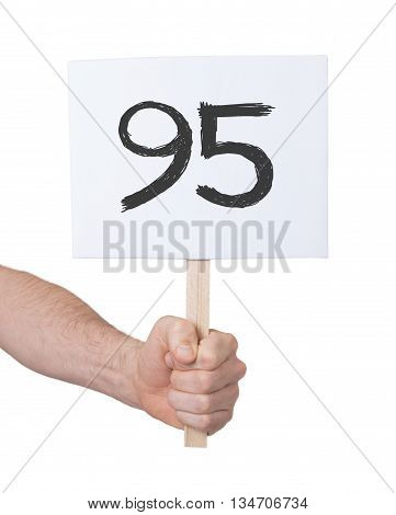 Sign With A Number, 95