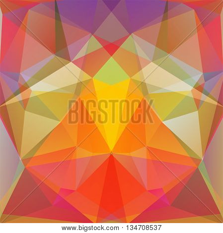 abstract colorful background, simple square vector illustration