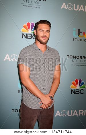 LOS ANGELES - JUN 16:  Grey Damon at the Aquarius Season 2 Premiere Screening Arrivals at the Paley Center For Media on June 16, 2016 in Beverly Hills, CA