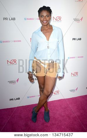 LOS ANGELES - JUN 16:  Adina Porter at the Babes for Boobs Live Bachelor Auction at the El Rey Theater on June 16, 2016 in Los Angeles, CA