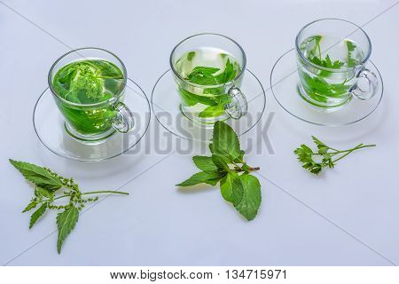green herb teas for health from nature