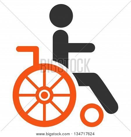 Wheelchair vector seamless repeatable pattern. Style is flat wheelchair and dollar symbols on a white background.