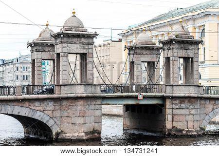 Lomonosov Bridge View