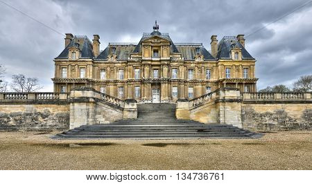Maisons Laffitte France - april 4 2016 : the castle built in the 17 th century
