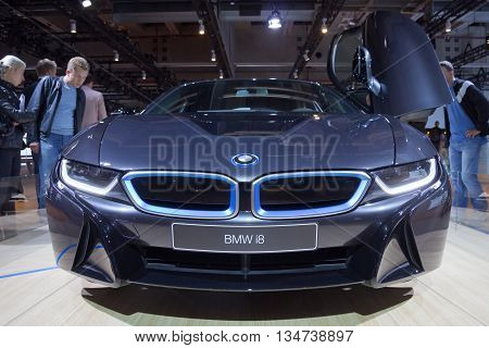 Hybrid Supersportler Bmw I8