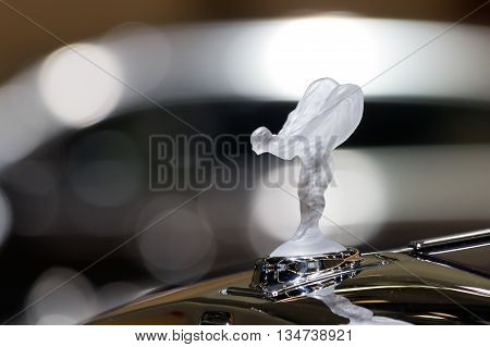 The Emblem Of Rolls-royce, Spirit Of Ecstasy