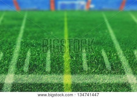 Football field, team sport texture