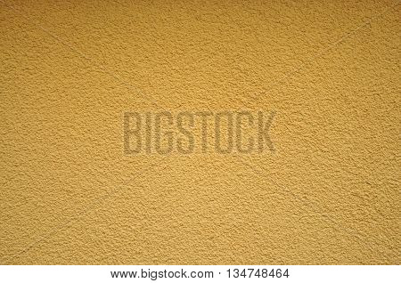 Yellow wall texture and background stock photo