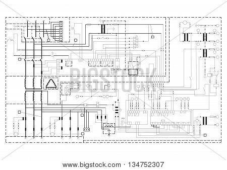 Schematic Diagram, Power Circuit