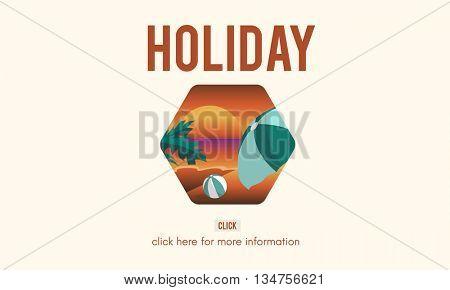 Holiday Adventure Summer Travel Concept