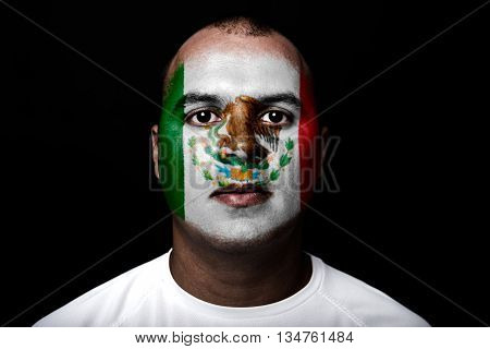 Man With Mexico Flag