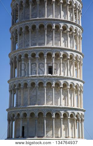 Tower Of Pisa In Tuscany