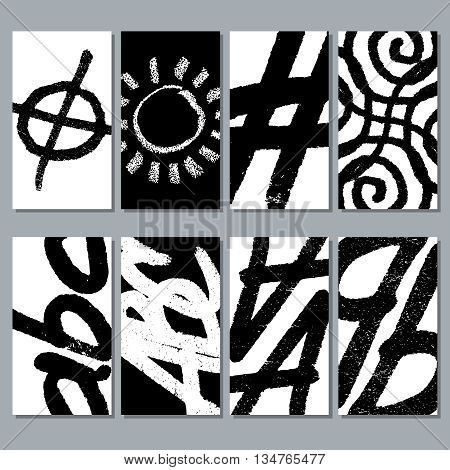 Hand drawing vector brushes abstract textures. Scribble pattern hand drawn, pattern ink sketch, brush pattern texture illustration