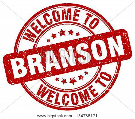 welcome to Branson stamp. welcome to Branson.
