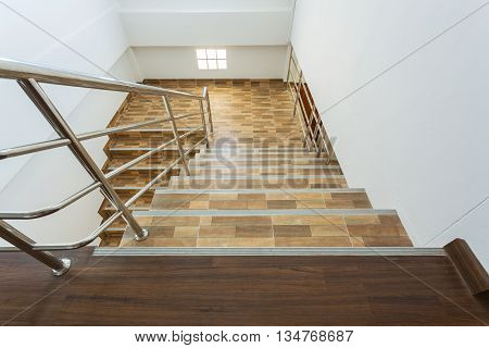 Staircase In Residential House