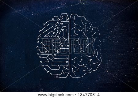Artificial Circuits And Human Brain