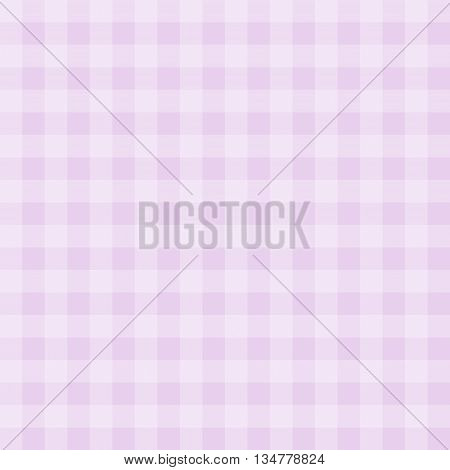 Seamless gingham pattern background - pink and light pink