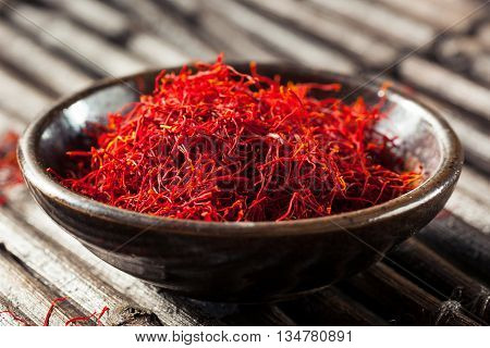 Raw Organic Red Saffron Spice