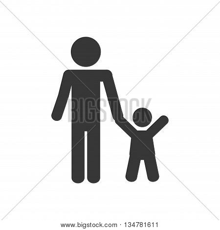 Pictogram of Family design about   illustration, flat and isolted design