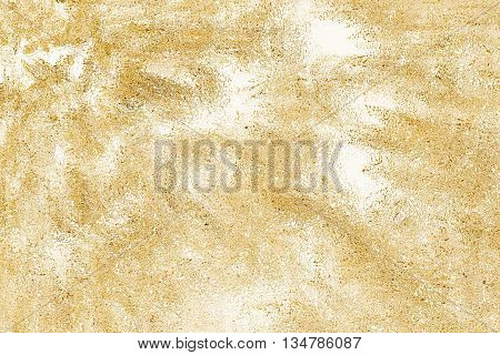 Illustration of an abstract yellow textured background