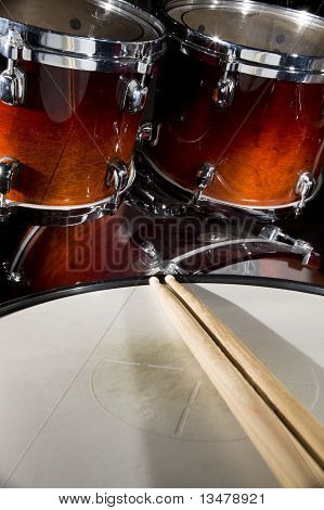 Red Drumset