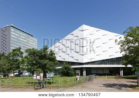 Kiel, Germany - June 4, 2016: The University Christian Albrecht is a university in the city of Kiel, Germany and was founded in 1665