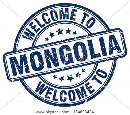 welcome to Mongolia stamp. welcome to Mongolia.