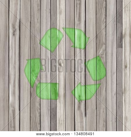The recycle old wood background. The wood texture with natural patterns background