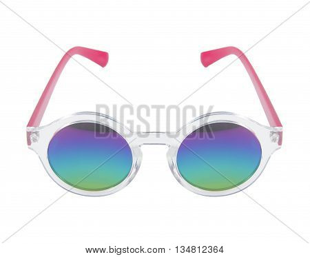 The UV glasses isolated on white background