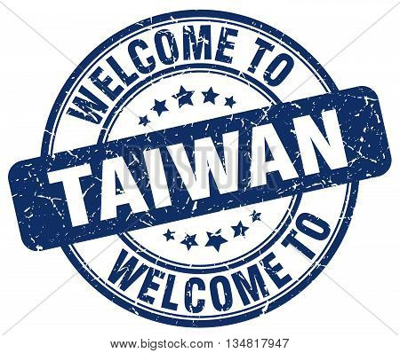 welcome to Taiwan stamp. welcome to Taiwan.