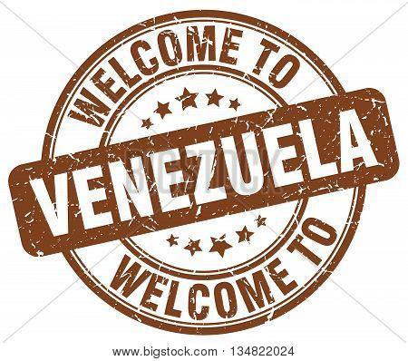 welcome to Venezuela stamp. welcome to Venezuela.
