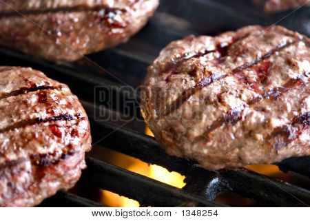 Hamburger Series (Grilling Burgers)