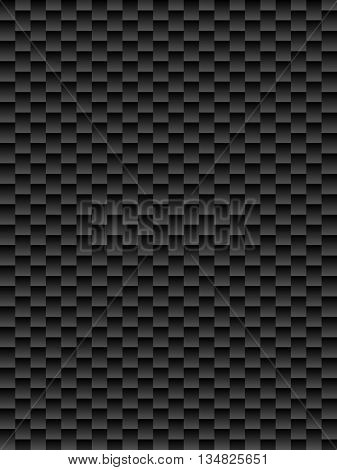 Black texture geometric seamless background kevlar abstract