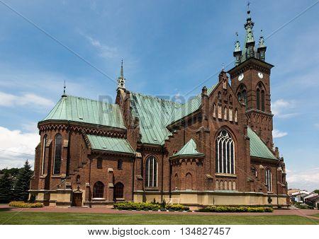 Church of St. John in Sokolow Malopolski Poland