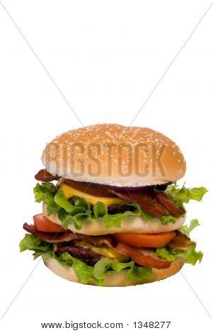 Hamburger Series (Bacon Cheeseburger Whole)