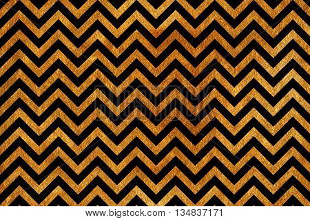 Golden Stripes Background, Chevron.