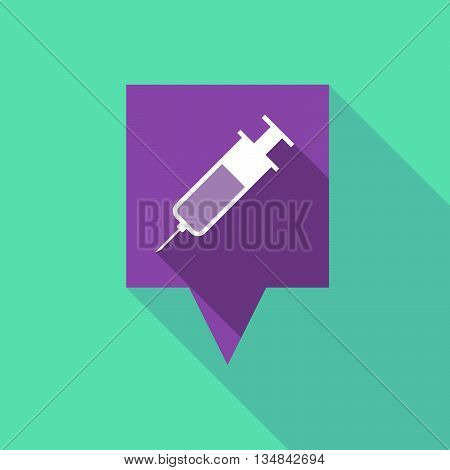 Long Tooltip Icon With A Syringe