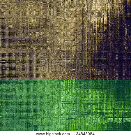 Stylish grunge texture, old damaged background. With different color patterns: yellow (beige); brown; purple (violet); gray