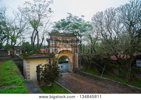 Old Fortress, Stone Archway.hue, Vietnam