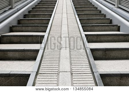 Outdoor Gray Stone Staircases Background