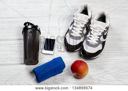 Sports And Fitness Background