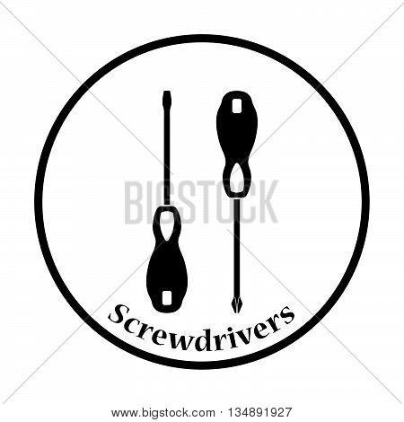 Icon Of Screwdriver