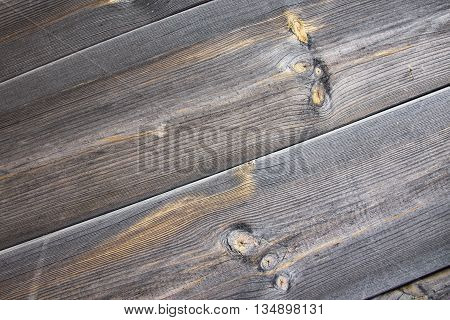 Texture wooden boards. Background wooden plates gray. Natural flooring for items from planed boards. Rural design woode.