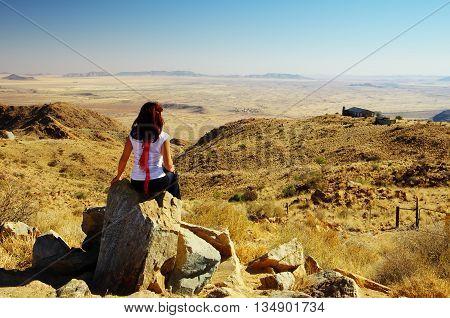 Balcony on Namib Naukluft from Spreetshogte Pass